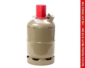 Gasflasche kaufen - Stahl Gasflasche 5kg - ungefüllt
