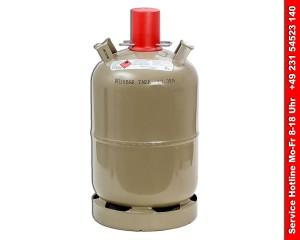 Gasflasche kaufen - Stahl Gasflasche 11kg - ungefüllt